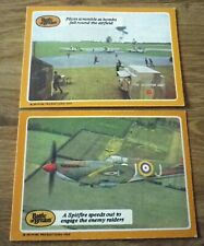 A&BC Battle of Britain. 1970. 2 cards. World War II Number 30 & 35