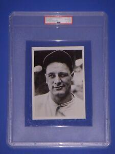 Lou Gehrig c.1930s Type 3 News Service Photo PSA/DNA 1932 US Caramel Card Image