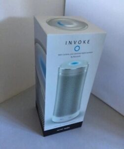 Harman Kardon Invoke Voice-Activated Speaker with Cortana (Silver) New Open Box