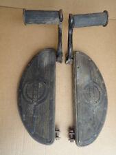 ORIGINAL 1948 HARLEY DAVIDSON KNUCKLEHEAD PANHEAD HALF MOON FOOT FLOOR BOARDS