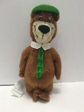 "Yogi Bear Plush Toy Stuffed Animal 1995 Hanna Barbera Vintage 8"" Tall"