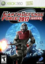 EARTH DEFENSE FORCE 2017 XBOX 360