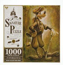 Disney Parks Goofy Golf 1000 Piece Signature Puzzle Golf Bag & Golf Clubs