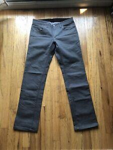 "Rare RAPHA Raeburn Jeans Denim 30"" Grey Stretch Reflective Logo Paul Smith"
