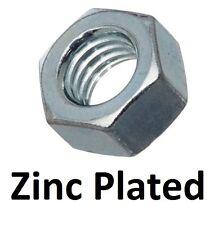 Qty 100 Hex Standard Nut M4 (4mm) Zinc Plated High Tensile Class 8 Full ZP