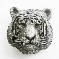 Men Buckle Tiger Western Animal Belt Buckle Gurtelschnalle Boucle de ceinture