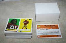 2006 TOPPS TURN BACK THE CLOCK VERNON DAVIS 91 CARD LOT #8 FREE SHIPPING