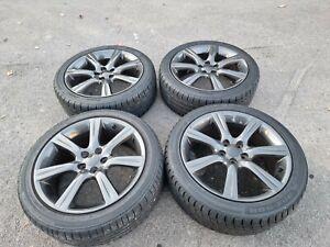 "17"" Genuine Enkei subaru impreza sti wrx alloy wheels 5x100 17x7j 55 b65 legacy"