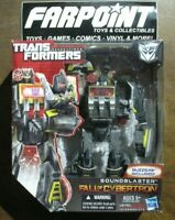 NEW MISB Transformers Generations Fall of Cybertron FOC SOUNDBLASTER Voyager S