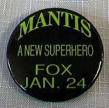 Original M.A.N.T.I.S  pin  SAM RAIMI Sam Hamm MANTIS Carl Lumbly David Eick