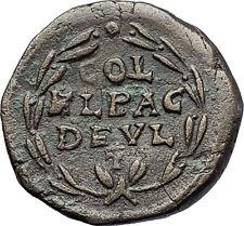 MAXIMINUS I THRAX 235AD Deultum Thrace Authentic Ancient Roman Coin i58085