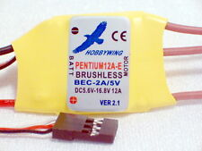 Hobbywing Pentium 12Amp Electronic Brushless Speed Control for Electric Airplane