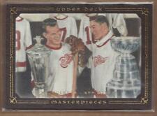 2008-09 Upper Deck Legends Masterpieces Brown #85 Gordie Howe - NM-MT
