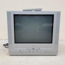 """JVC 20"""" CRT TV AV-20FD23 I'Art Television Retro Gaming + Front AV +DVD + Remote"""