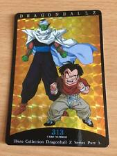 Carte Dragon Ball Z DBZ Hero Collection Part 3 #313 Prisme 1995 MADE IN JAPAN