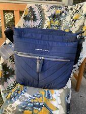 Adrienne Vittadini The Chandra Collection Hobo Crossbody Navy Handbag