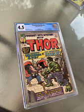Journey into Mystery #112 CGC 4.5 Classic Thor vs Hulk Cover