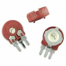 Lot Of 5 Piher 5k 5000 Ohm Trimmer Potentiometer Usa Seller