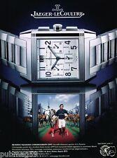 Publicité advertising 2007 La Montre Reverso Squadra Jaeger LeCoultre