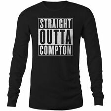 Long Sleeve Graphic Tee Hip Hop T-Shirts for Men