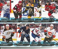 2016-17 Upper Deck UD Young Guns RC Rookie Card Lot Of 9 Cards