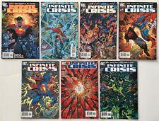 Infinite Crisis 1 2 3 4 5 6 7 Run Lot DC Comics 1st Jaime Reyes New Blue Beetle