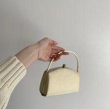 Vintage Handbag In Cream
