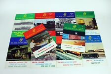 O Scale Railroading Magazines 10 Issues 1972-1975