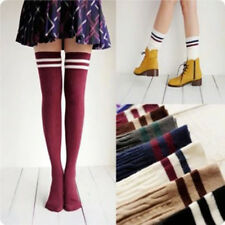 Compression Stockings Cylinder College Wind Over  Knee Socks High Stockings