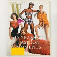 W Magazine August 2002 Naomi Campbell, Kate Moss, Patti Hansen in 30 Something