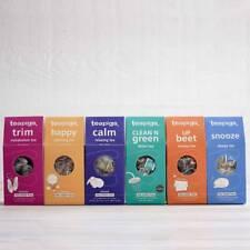 Tea Bags - Tea Pigs - 15 Biodegradable Tea Temples - Feel Good Big Bundle of 6