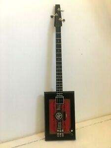 "3 string "" Rocky Patel Vintage Series "" cigar box guitar"