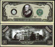 Lot of 25 - Thomas Jefferson 3rd President Dollar Novelty Bills
