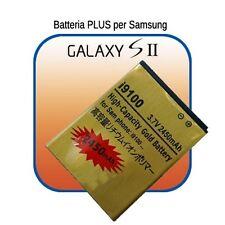 Batteria AGGIUNTIVA - MAGGIORATA per Samsung GALAXY S2 SII i9100 carica 2450mAh