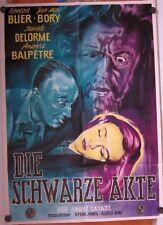 SCHWARZE AKTE (Pl. '57) - BERNARD BLIER / DANIELE DELORME / ANDRE CAYATTE