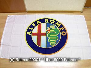 Fahne Flagge Alfa Romeo - 90 x 150 cm