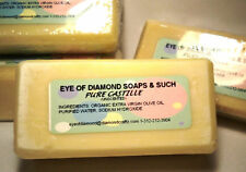 100 percent Organic Handmade Castile Soap one 4oz bar