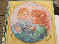 "Royal Doulton""Kathleen And Child""/Edna Hibel Plate 1981 Limited Edition #3048"