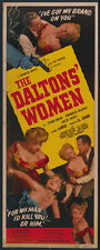 The Daltons' Women (1950) Tom Neal Cult Western movie poster print