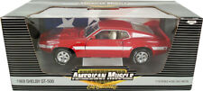 1969 Shelby GT500 Shelby Hardtop RED 1:18 Ertl American Muscle 39254