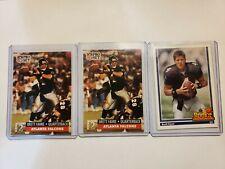 Brett Favre 1991 Pro Set Rookie, RC, GREEN BAY PACKERS 3 card lot