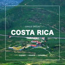 Organic Costa Rican Tarrazu Fresh Dark Roast Coffee, Whole Beans, 5 - 1 lbs Bags