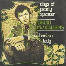 DAVID MCWILLIAMS DAYS OF PEARLY SPENCER - HARLEM LADY 45 GIRI