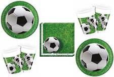 Fussball Partyset Teller Becher Servietten Partygeschirr Fußball WM Party Set