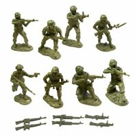 TSSD 1/32 VIETNAM WAR US MARINES USMC 16 PLASTIC SOLDIERS 6 WEAPONS FREE SHIP