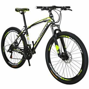 "Mountain Bike Front Suspension 21 Speed Mens Bikes 27.5"" bicycle"