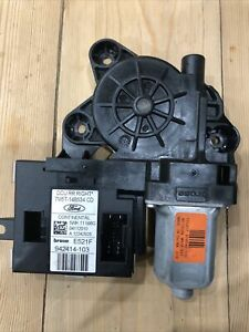 08-11 FORD FOCUS MK2 ST O/S/R RIGHT REAR DRIVER SIDE WINDOW MOTOR C-max Kuga Mk1