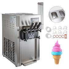 Machine à Glace Italienne Crème Glacée Molle Restaurant Supermarché 3L*2
