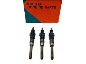 NEW GENUINE Kubota Glowplug 3 pieces 19077-65512 19077-65513 D1703 V2403-M