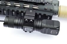 Compact LED Gun Flashlight 1000 Lumens Rifle Shotgun Picatinny mount & Battery